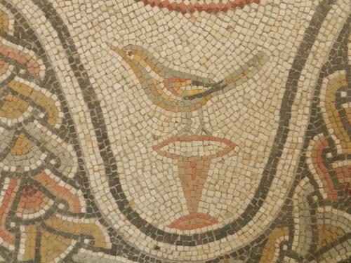 Bird, detail, Massimo Museum, Rome.