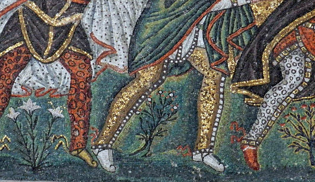 Ravenna mosaics: taking a closer look