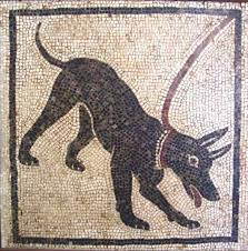 Life and death in Pompeii and Herculaneum: mosaic guard dog