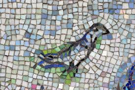 Chagall mosaic, Chicago
