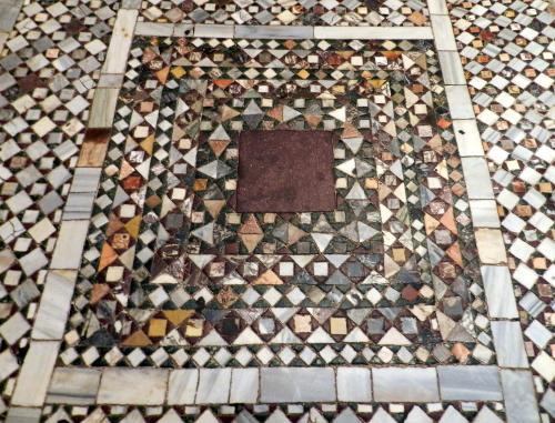 Floor, St. Mark's Basilica, Venice.