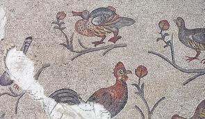 Lod mosaic, birds