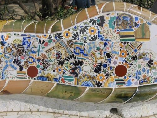 gaudi mosaics