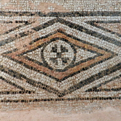 Mosaic floor, 5th floor. Byzantine Museum of Thessaloniki.