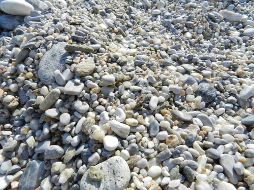 Pebbles. Pelion, Greece.
