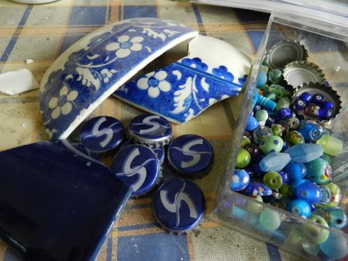 Miscellanenous materials for the Gaudi bird