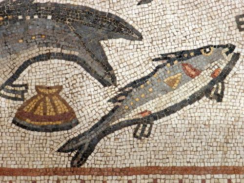 Lod mosaic, marine detail 5