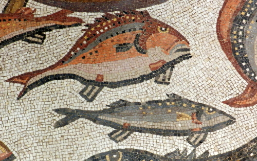 Lod mosaic, marine detail 4