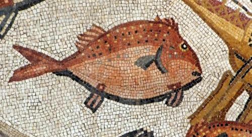 Lod mosaic, marine detail 2