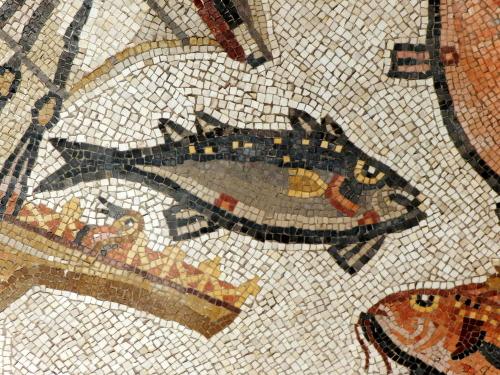 Lod mosaic, marine detail 3