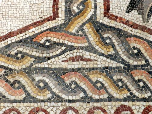 Lod mosaic border detail