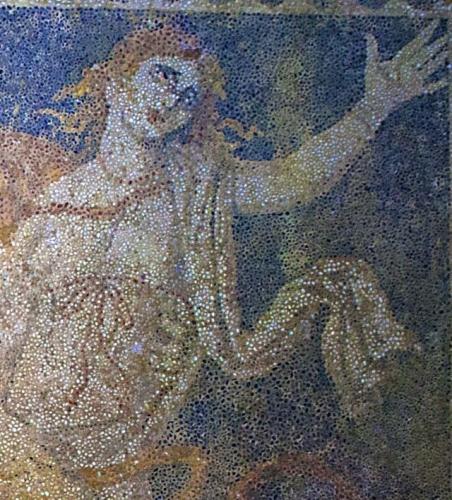 Persephone. Amphipolis mosaic