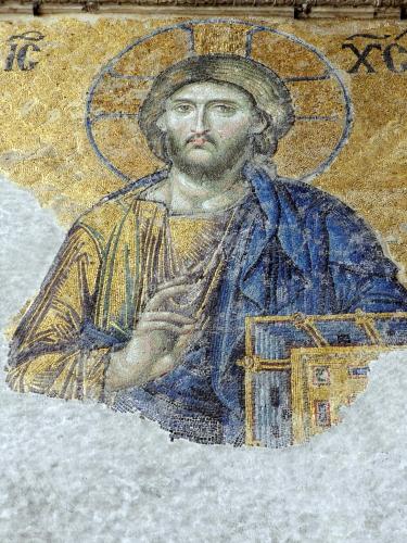 Christ, Agia Sophia, Istanbul. Photo: Helen Miles Mosaics