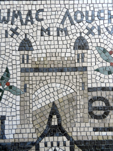 Lincoln's Inn, London. Photo: Helen Miles Mosaics