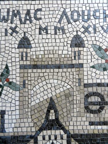 Lincoln's Inn, London. Photo: Helen Miles Mosaics