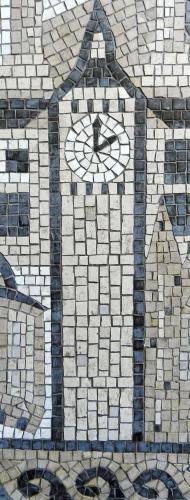Big Ben, London. Photo: Helen Miles Mosaics