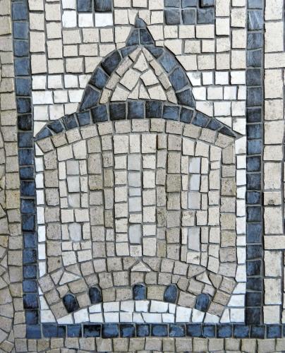 Bodleian Library, Oxford. Photo: Helen Miles Mosaics