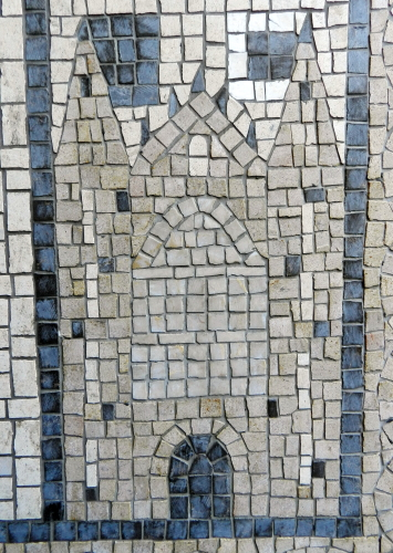 Kings College, Cambridge. Photo: Helen Miles Mosaics