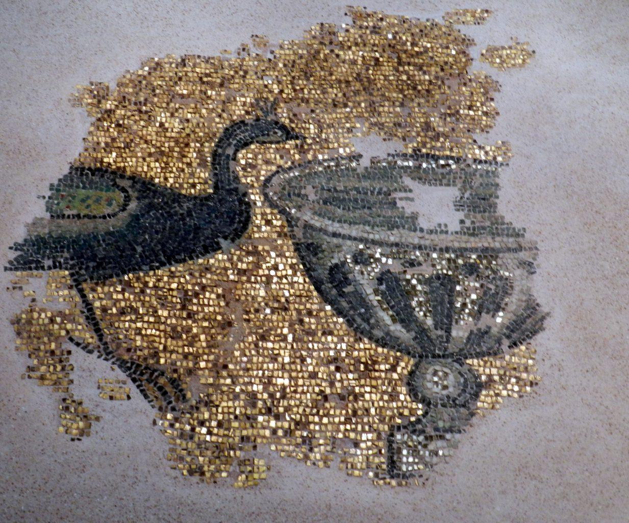 Mosaic  Byzantine Peacock  80 pieces jigsaw puzzle