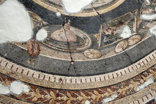 Buffet mosaic, Antakya. Dick Osseman.