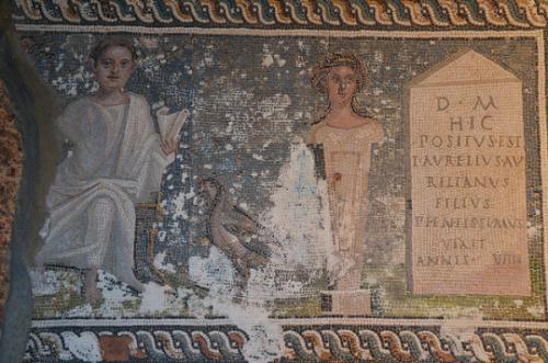 Following Hadrain. Tombstone of Aurelius Aurelianus