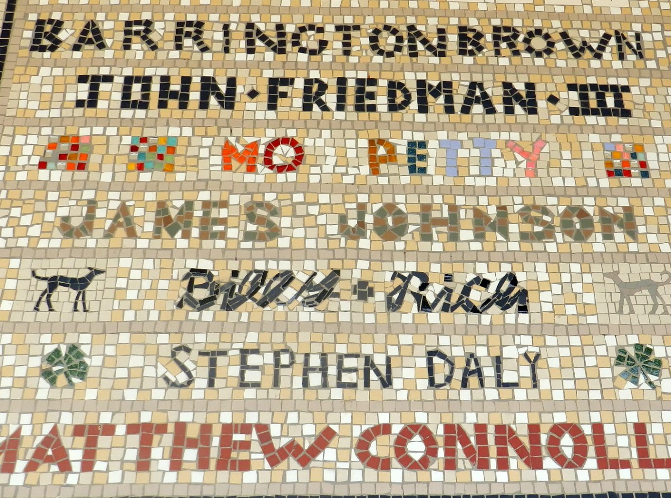 The Hackney Mosaic Project, London.