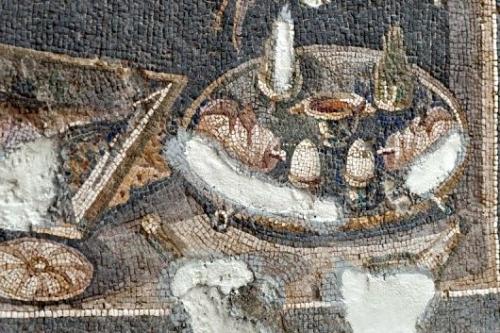 Antakya mosaic egg cups