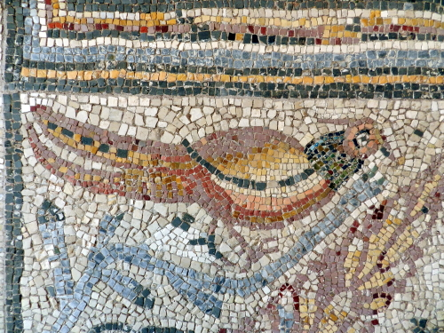 glass in ancient mosaics