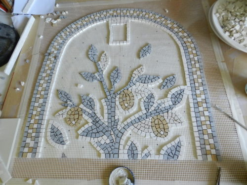 lemon tree mosaic