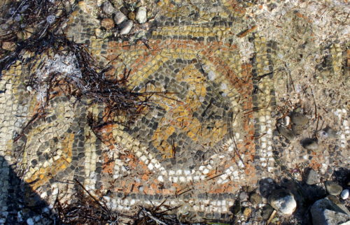 Atalanti mosaic, Greece.