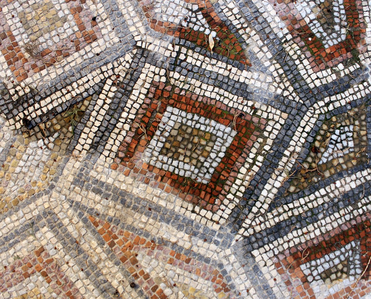 The Mosaics of Rhodes, Greece.