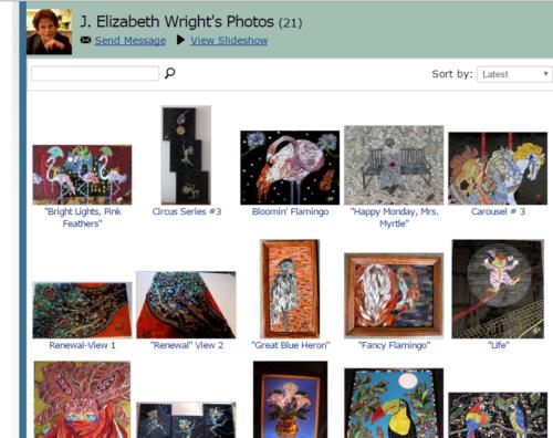 J Elizabeth wright
