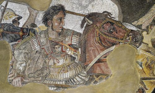 Alexander_the_Great_mosaic with medusa wikipedia