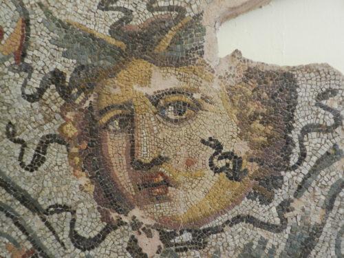 mosaic medusa head