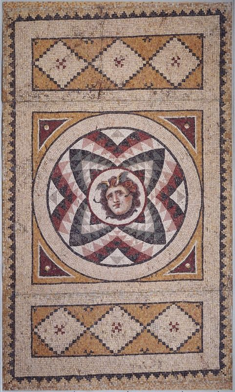 Mosaic Medusa Heads: a collection of ancient Roman Gorgons