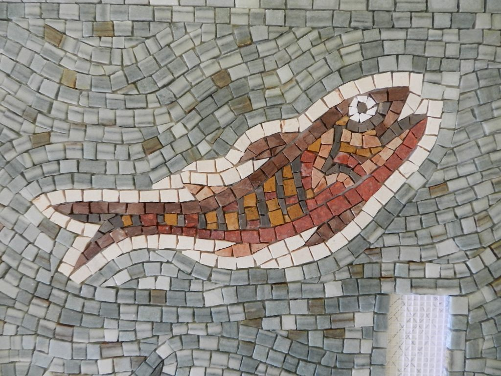 Washington panel mosaic_fish