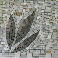 Washington panel mosaic_plant detail