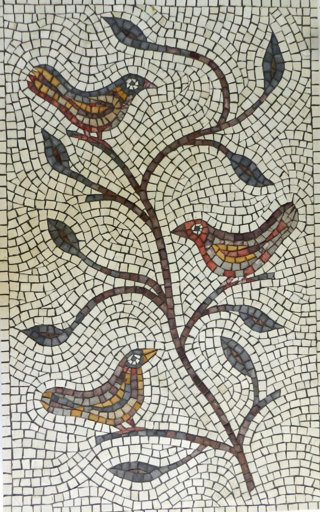 Birds and branches mosaic _ complete