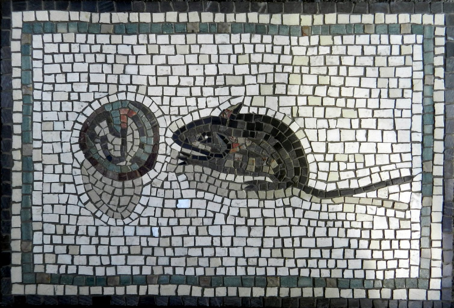 mouse and walnut mosaic_completed