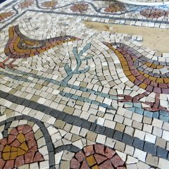 Love birds mosaic _ work in progress.