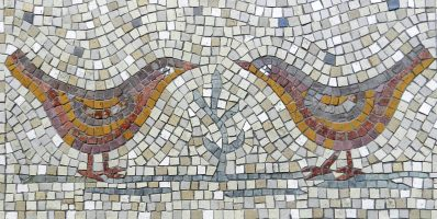 Love Birds Mosaic