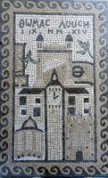 London wedding mosaic