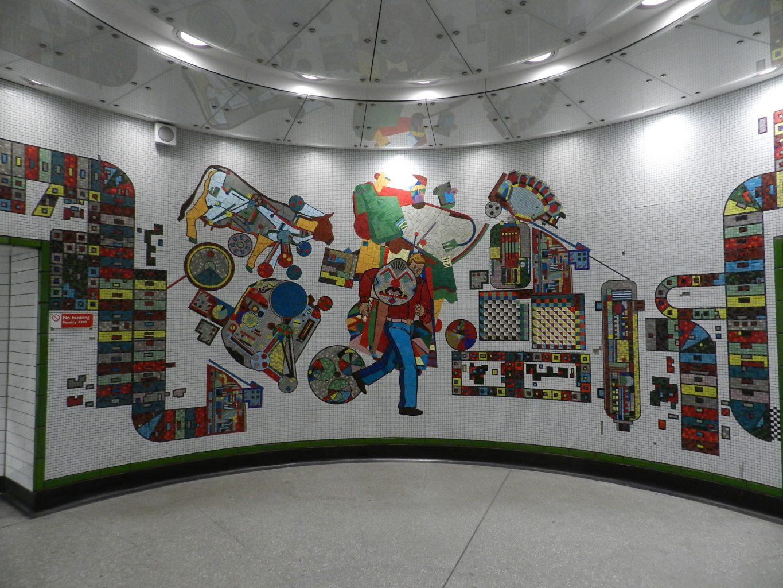 Paolozzi mosaics _Rotunda 2