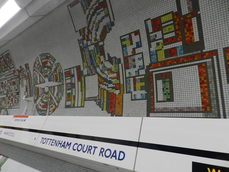 paolozzi mosaics _Northern Line 2