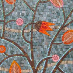 Tree of Life mosaic detail by Emma Biggs