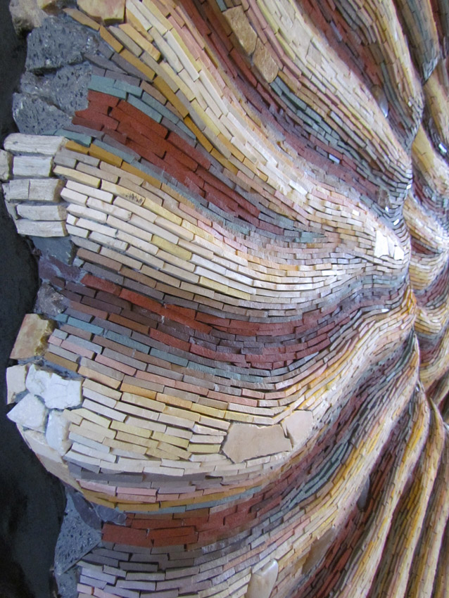 Spiral Evolution detail by Tamara Froud.