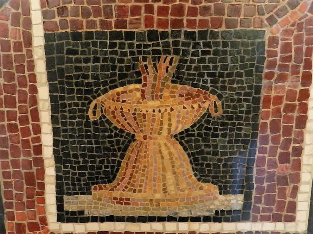 Art Institute of Chicago - mosaic brazier.