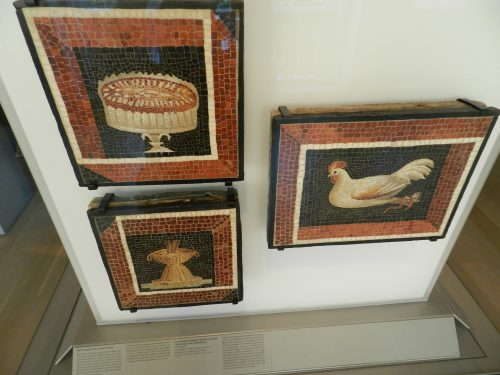 Art institute of Chicago: Mosaic still lives