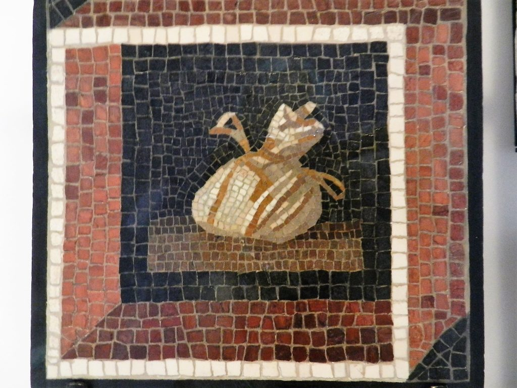 Art Institute of Chicago _ Roman money bag mosaic