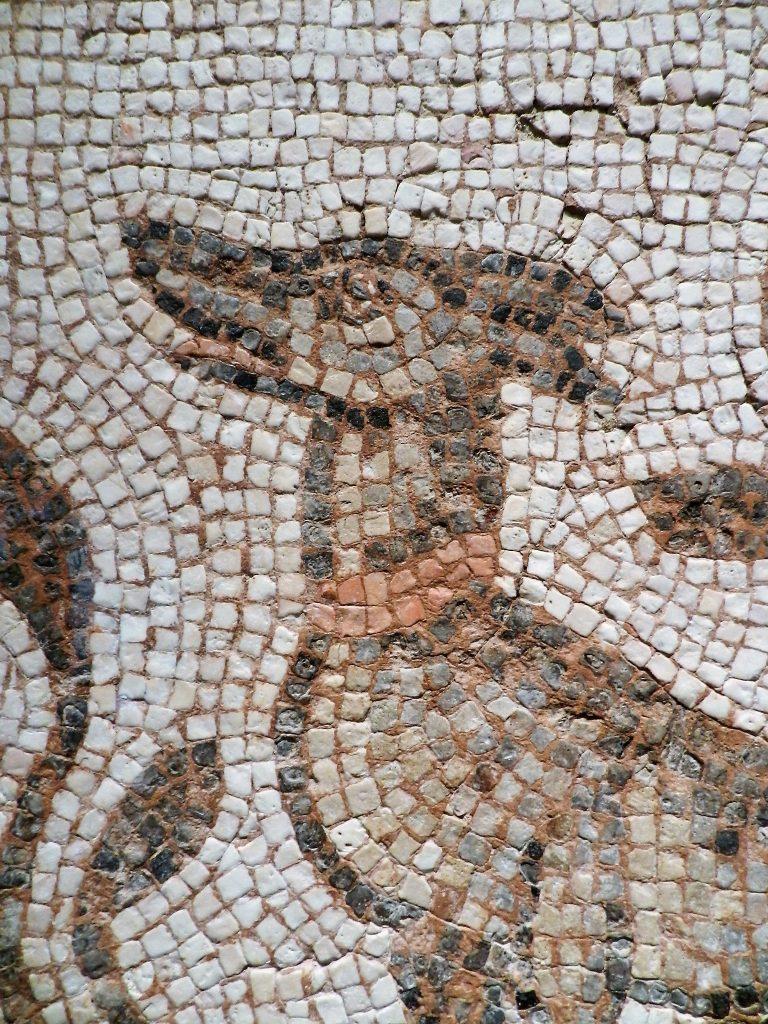 Art Institute of Chicago - mosaic dog detail